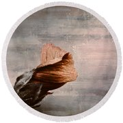 Deploiement - 05ft01b Round Beach Towel by Variance Collections