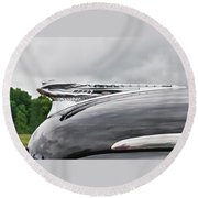 Dessoto Hood Ornament 8622 Round Beach Towel