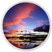 Dinish Island, Near Kenmare, Ring Of Round Beach Towel