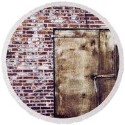 Dismal At Best - Rusty And Crusty Round Beach Towel
