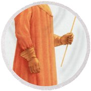 Doctors Protective Clothing Round Beach Towel