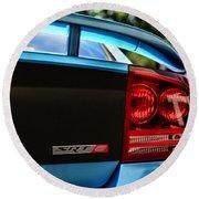 Dodge Charger Srt8 Rear Round Beach Towel
