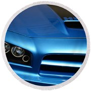 Dodge Charger Srt8 Super Bee Round Beach Towel