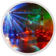 Dodgems Round Beach Towel