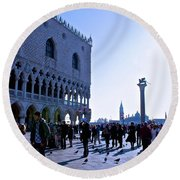 Doge's Palace Round Beach Towel
