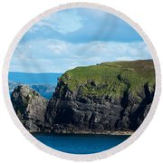 Donegal Seascape Round Beach Towel