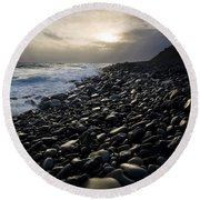 Doolin, County Clare, Ireland Pebble Round Beach Towel
