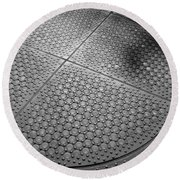 Dots Of Central Park Round Beach Towel