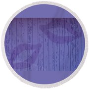 Double Lips Round Beach Towel