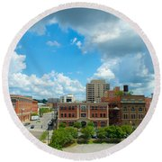 Downtown Montgomery Round Beach Towel