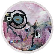 Dream Painting Round Beach Towel