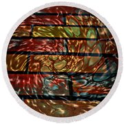 Drip Round Beach Towel