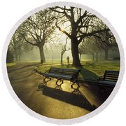 Dublin - Parks, St. Stephens Green Round Beach Towel