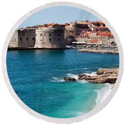 Dubrovnik Old City Round Beach Towel