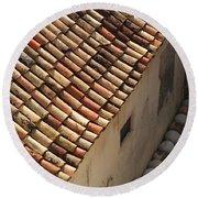 Dubrovnik Rooftop Round Beach Towel