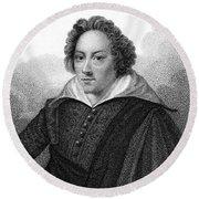 Dudley North (1602-1677) Round Beach Towel