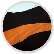Dune Tunnel Round Beach Towel