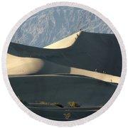 Dune Walkers Round Beach Towel
