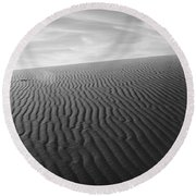 Dunes 3 Round Beach Towel
