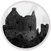 Dunluce Castle Round Beach Towel