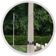 During The First World War Harefield Park Was Offered By The Owner As A Hospital To The Ministry Of  Round Beach Towel