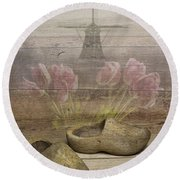Dutch Heritage Round Beach Towel