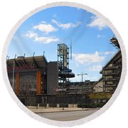 Eagles - The Linc Round Beach Towel