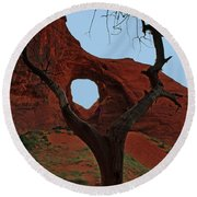Ear Of The Wind Round Beach Towel