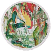 Earth Crisis Round Beach Towel by Ikahl Beckford