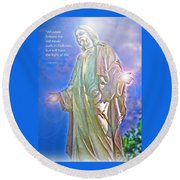 Easter Miracle Round Beach Towel