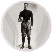 Eddie Mahan (1892-1951) Round Beach Towel