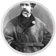 Edward Sothern (1826-1881) Round Beach Towel
