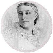 Elizabeth Stuart P. Ward Round Beach Towel