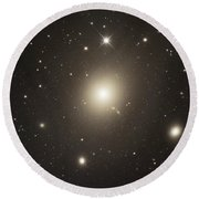 Elliptical Galaxy Messier 87 Round Beach Towel