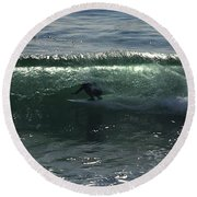 Enclosed Round Beach Towel