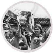 England: Fa Cup, 1977 Round Beach Towel