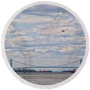 Enterprise 3 Round Beach Towel