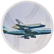 Enterprise 5 Round Beach Towel