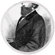 Ephraim Squier (1821-1888) Round Beach Towel