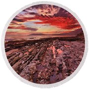 Eternal Round Beach Towel