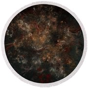 Eternal Garden Round Beach Towel