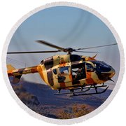 Eurocopter Uh-72 Lakota Round Beach Towel
