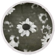 Even In Darker Days Round Beach Towel by Laurie Search