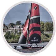 Extreme 40 Team Alinghi Round Beach Towel
