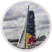 Extreme 40 Team Red Bull Round Beach Towel