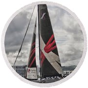 Extreme 40 Team Wales Round Beach Towel