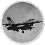 F-16c Round Beach Towel