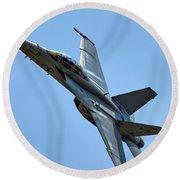 F-18 Hornet Round Beach Towel