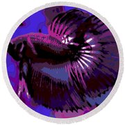 Fabulous Fins Round Beach Towel
