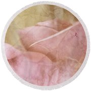 Faded Past Round Beach Towel